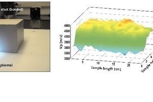 Quantifizierung der Gefügeschädigung eines Betonkörpers nach Frost-Tauwechsel-Belastung