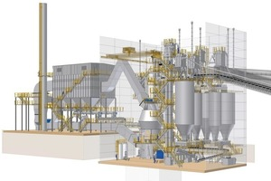 Cement grinding plant<br />