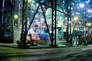 Electronic and automation engineering for a Loesche cement mill in Chile