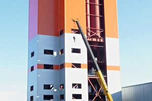 """<div class=""""bildtext_en"""">Mixing tower of the new Russian mixing plant</div>"""
