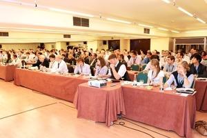 Mehr als 250 Teilnehmer kamen nach Madrid<br />
