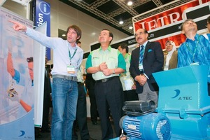 Malaysian Minister of Energy &amp; Green Technology &amp; Water visited A TEC's booth<br />