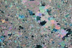 Mikrogefüge des Devon-Kalksteins<br />
