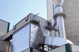 Zementmühlenentstaubung bei Atlantica Cement (Scheuch)<br />