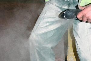 Gefahrlose Personenreinigung mit wandmontierter Jetblack-Einheit<br />
