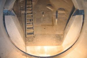 Kiln inlet trough<br />