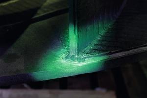 Oberflächenrissprüfung