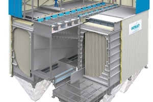 3D-Grafik EMC-Filteranlage<br />