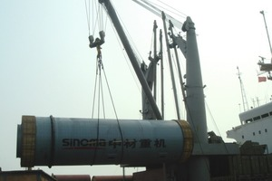 "<span class=""bildunterschrift_hervorgehoben"">9</span>	Ball mill from Sinoma for Holcim Tanzania (Project Cargo Logistics)<br />"