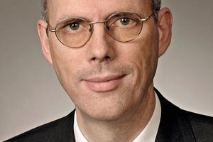 Dr. Martin Schneider, Hauptgeschäftsführer des Vereins Deutscher Zementwerke VDZ<br />