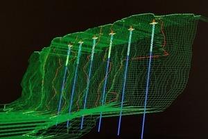 """<span class=""""bildunterschrift_hervorgehoben"""">3</span>3D model of the quarry wall<br />"""