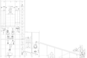 "<div class=""bildtext_en"">1 Schematic plan of the mixing plant</div>"